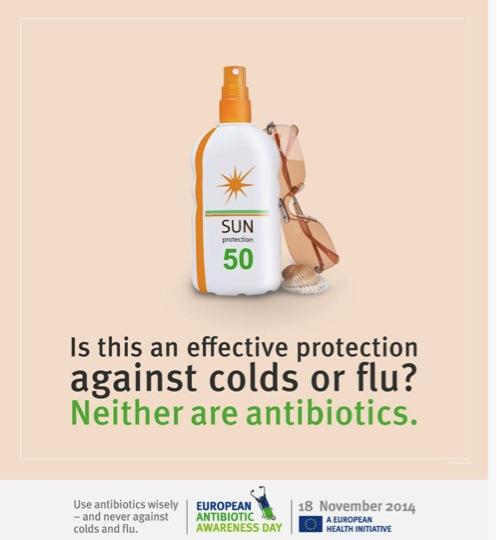¿Utilizarías esto para tratar un catarro? ¿Entonces por qué usar antibióticos?