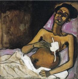 T.B. Harlem. De Alice Neel (1949(
